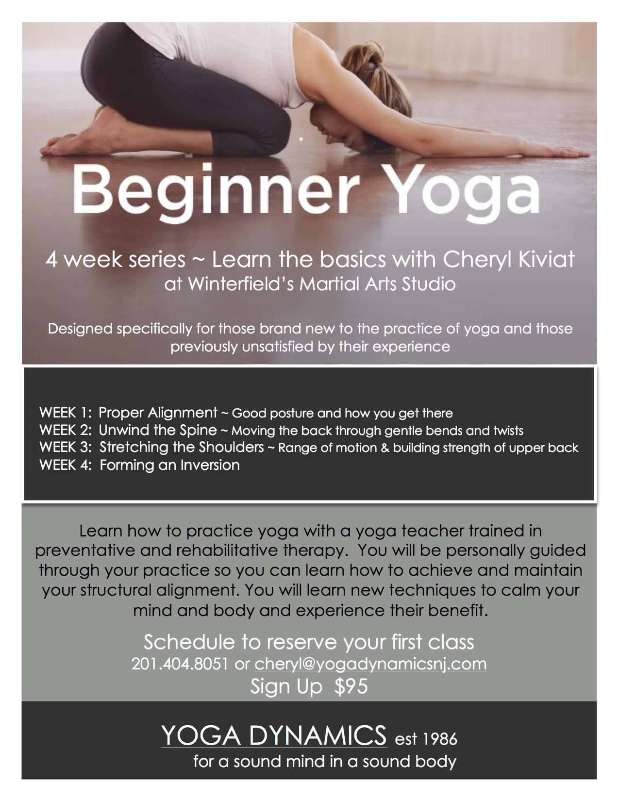 Beginner Yoga Flyer For Website